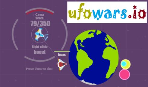 Игра Ufowars.io