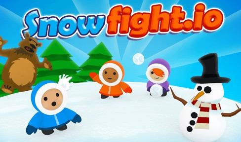 Игра Snowfight.io