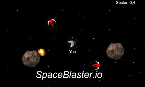 Игра SpaceBlaster.io