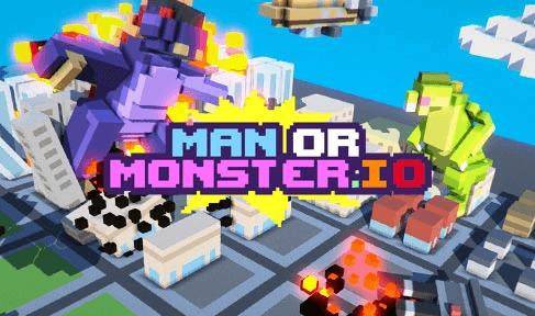 Игра ManOrMonster.io