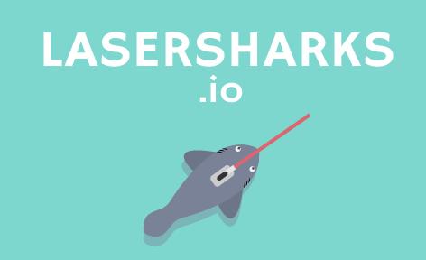 Игра LaserSharks.io